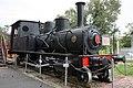 Steam Locomotive No. 1 Bisai Railways front-right 2014 Museum Meiji Mura.jpg