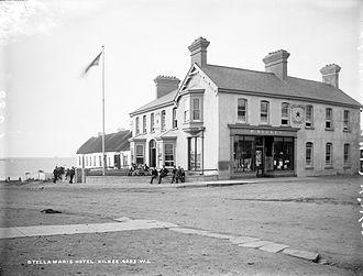 Kilkee (parish) - Stella Maris Hotel, Kilkee, late 19th century