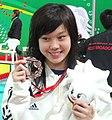 Stephanie Au at Hong Kong East Asian Games (cropped).jpg