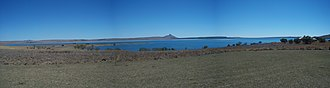 Sterkfontein Dam Nature Reserve - Panorama of the lake and surrounding landscape