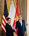 Steven Mnuchin and Vuong Dinh Hue at US Treasury.jpg