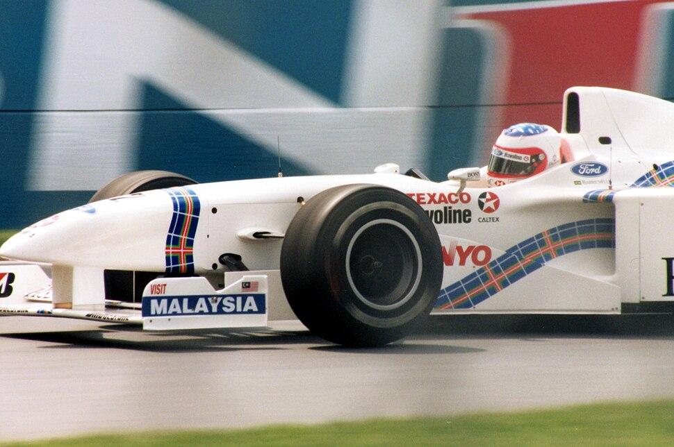 Stewart gp barrichello 1997