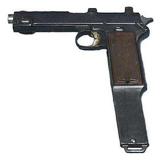 Автоматический пистолет. Automatic pistol. автоматический пистолет