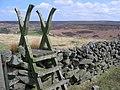 Stile, Wheeldale Road - geograph.org.uk - 163210.jpg