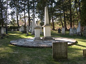 Sedgwick Pie - Sedgwick Pie at Stockbridge Cemetery