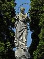 Stollhofen - Votivsäule Immaculata - hl Maria.jpg