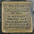 Stolperstein Erich Dawideit Brunnenstraße 118 0038.JPG