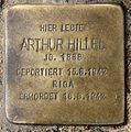 Stolperstein Hobrechtstr 57 (Neuk) Arthur Hillel.jpg