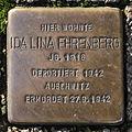 Stolperstein Karlsruhe Ida Ehrenberg Adlerstr 36 (fcm).jpg