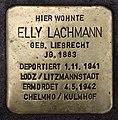 Stolperstein Mainzer Str 15 (Wilmd) Elly Lachmann.jpg