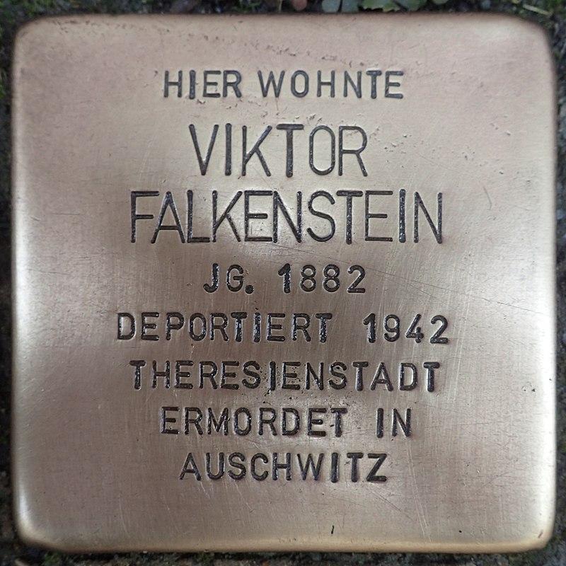 Stolperstein für Viktor Falkenstein