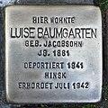 Stolperstein Verden - Luise Baumgarten (1881).jpg