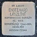 Stolperstein für Laszlone Engelhard (Miskolc).jpg