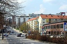Rosa-Luxemburg-Straße in Frankfurt (Oder)