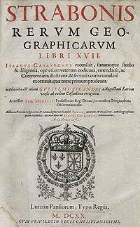 Strabon Rerum geographicarum 1620.jpg