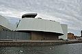 Stralsund, Am Fährkanal, Ozeaneum (2012-03-04), by Klugschnacker in Wikipedia.jpg