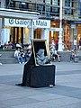 Street performer in Ban Jelačić Square 02.jpg