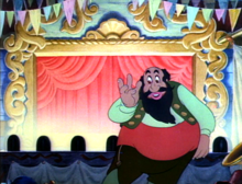 Mangiafoco nel film della Disney