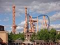 Stunt Fall in Warner Bros. Park Madrid - panoramio.jpg