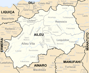 Sucos of East Timor - Sucos of Aileu