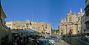 Rabat, Malta - Rabat parish square
