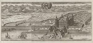 Skokloster Castle - The Castle and its planned surroundings ca 1690-1710.
