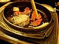 Sukiyaki by nishioka in Ginza, Tokyo.jpg