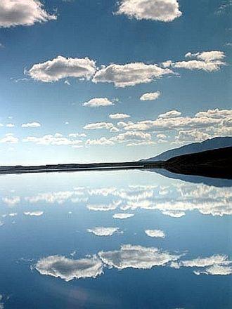 Summit Lake (Paxson, Alaska) - A summer view across Summit Lake