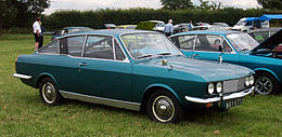 Una Sunbeam Rapier Fastback coupé