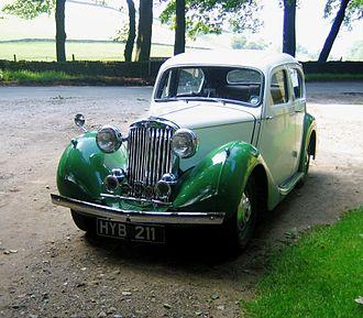 "Sunbeam-Talbot - Ten 4-light 4-door sports saloon 1946 ""a Hillman Minx in a party frock"""