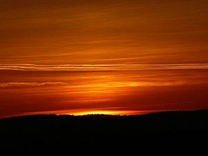 Sunset in Brno