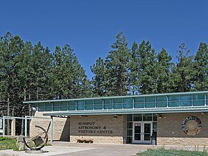 Apache Point Observatory - Sunspot Astronomy and Visitor's Center