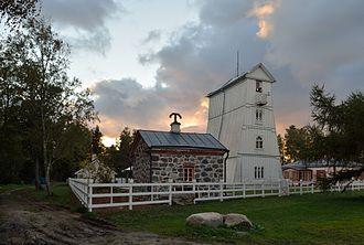Suurupi - Wooden Suurupi front lighthouse, built in 1859