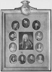 Sveriges regenter från Gustav I till Fredrik I