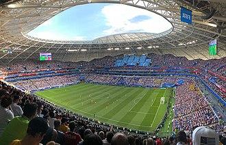 Samara Arena - Game World Cup Sweden-England, 7 July 2018.