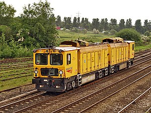 Railgrinder - Switch and crossing railgrinder