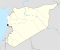 Syria location map Tartus roter Punkt.svg