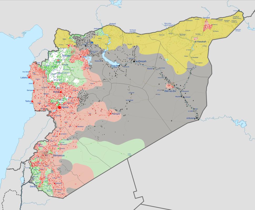 Syrian civil war 01 09 2016