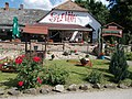 Szalma Restaurant and Pension, The Restaurant, Primate's Island, Esztergom, Hungary.jpg