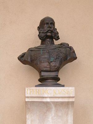 University of Szeged - Franz Joseph, founder of the University in Pantheon