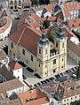 Szent István székesegyház, Székesfehérvár, civertan légi2.jpg