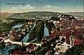 Tübingen. Blick von Osten Metz AK koloriert 61703.jpg