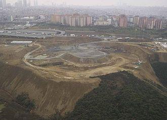 Türk Telekom Stadium - Site preparation (March 2006)