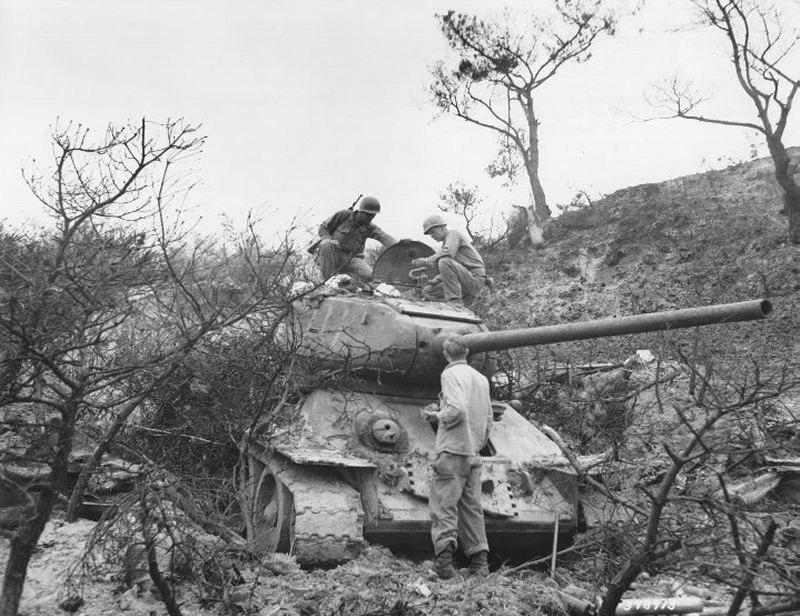 T-34-85-korea