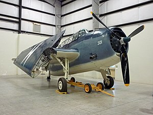 VA-214 (U.S. Navy) - TBM-3 Avenger at the Pima Air & Space Museum. VA-214 operated similar aircraft