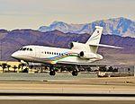 TC-AZR 2010 Dassault Falcon 900EX C-N 236 - State Oil Company of Azerbaijan Republic (SOCAR) (6454785961).jpg