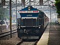 TKD WDP4B 40004 locomotive as Suhaildev express.jpg