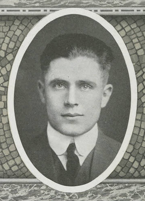 T. T. McConnell - McConnell pictured in Debris 1914 Purdue yearbook