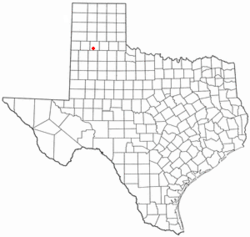 Location of Kress, Texas