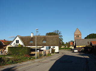 Tårnby town in Denmark